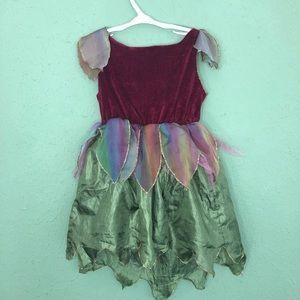 Fairy Costume Dress Up Size 4-6x